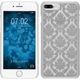 Coque Rigide pour Apple iPhone 7 Plus Damask argenté
