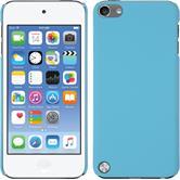 Coque Rigide pour Apple iPod touch 5 / 6 gommée bleu clair