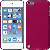 Coque Rigide pour Apple iPod touch 5 / 6 gommée rose chaud