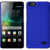 Coque Rigide pour Huawei Honor 4c gommée bleu