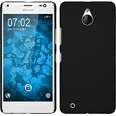 Coque Rigide pour Microsoft Lumia 850 gommée noir
