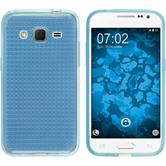 Silicone Case for Samsung Galaxy Core Prime Iced light blue