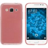 Silicone Case for Samsung Galaxy Core Prime Iced pink
