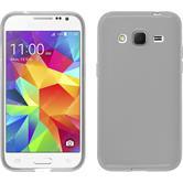 Silicone Case for Samsung Galaxy Core Prime transparent white