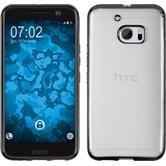 Custodia in Silicone per HTC 10 Slim Fit grigio