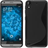Custodia in Silicone per HTC Desire 530 S-Style nero