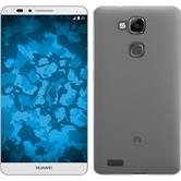 Custodia in Silicone per Huawei Ascend Mate 7 Slimcase trasparente