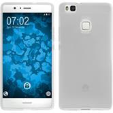 Custodia in Silicone per Huawei P9 Lite trasparente bianco