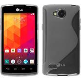 Custodia in Silicone per LG Joy S-Style trasparente