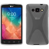 Custodia in Silicone per LG L60 X-Style trasparente