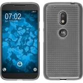 Custodia in Silicone per Motorola Moto G4 Play Iced trasparente