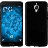 Custodia in Silicone per OnePlus OnePlus 3 crystal-case nero