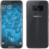 Custodia in Silicone Galaxy S8 360° Fullbody Crystal Clear