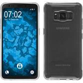 Custodia in Silicone Galaxy S8 Active trasparente Crystal Clear Case