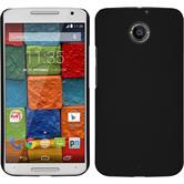 Custodia Rigida per Motorola Moto X 2014 2. Generation gommata nero