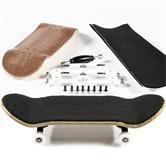 Finger skateboard kit - red brown (Design 1)