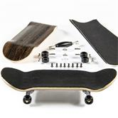 Finger skateboard kit -  dark brown (Design 4)