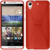 Funda de silicona para HTC Desire 626 X-Style rojo