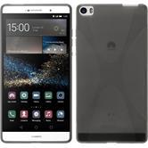 Funda de silicona para Huawei P8max X-Style gris