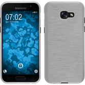 Funda de silicona Galaxy A3 2017 brushed blanco