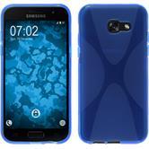 Funda de silicona Galaxy A3 2017 X-Style azul