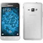 Funda de silicona para Samsung Galaxy J1 (2016) J120 360° Fullbody transparente