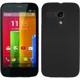 Funda Rígida para Motorola Moto G goma negro