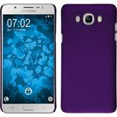 Funda Rígida Galaxy J7 (2016) J710 goma púrpura
