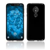 Silicone Case Moto G7 Play  black Cover