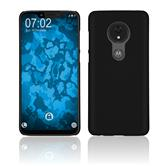 Hardcase Moto G7 Power rubberized black Cover