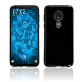 Silicone Case Moto G7 Power  black Cover