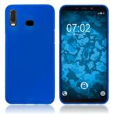 Silicone Case Galaxy A6s matt blue Cover
