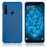 Silicone Case Galaxy A9 (2018) matt blue Cover