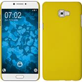 Hardcase Galaxy C5 Pro rubberized yellow