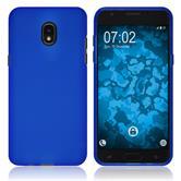 Silicone Case Galaxy J3 (2018) matt blue Case