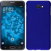 Hardcase Galaxy J7 Prime rubberized blue + protective foils