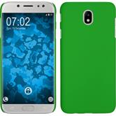 Hardcase Galaxy J7 Pro rubberized green Case