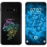 Samsung Galaxy S10e Silikon-Hülle Floral  M2-4