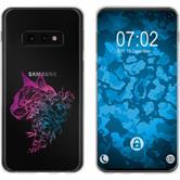 Samsung Galaxy S10e Silicone Case floral M2-6