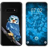 Samsung Galaxy S10e Silicone Case vector animals M1