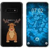 Samsung Galaxy S10e Silicone Case Christmas X Mas M3