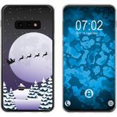 Samsung Galaxy S10e Silicone Case Christmas X Mas M5