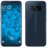Silicone Case Galaxy S8 Plus 360° Fullbody light blue Case