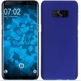 Hardcase Galaxy S8 Plus rubberized blue