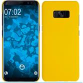 Hardcase Galaxy S8 Plus rubberized yellow