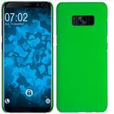 Hardcase Galaxy S8 Plus rubberized green