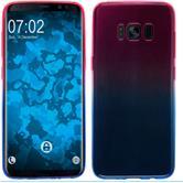 Silicone Case Galaxy S8 Plus Ombrè Design:06 + Flexible protective film