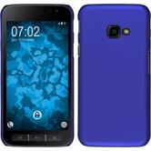 Hardcase Galaxy Xcover 4 rubberized blue