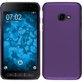 Hardcase Galaxy Xcover 4 rubberized purple