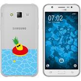 Samsung Galaxy J5 (2015 - J500) Silikon-Hülle Sommer  M2